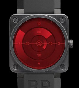 bell ross br1 red radar
