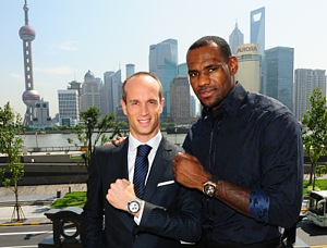 LeBron James and Audemars Piguet