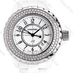 J12 White Ceramic Diamonds