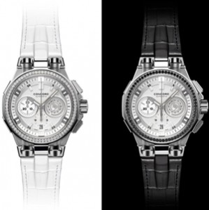 Chronograph Black & White