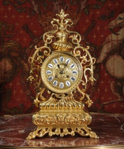 European antique clock