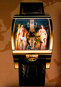 Corum Golden Bridge Adam & Eve
