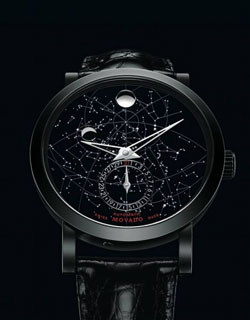 Movado Red Label Skymap