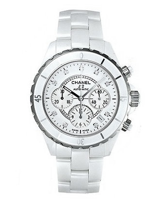 J12 White Ceramic Diamond Dial H2010