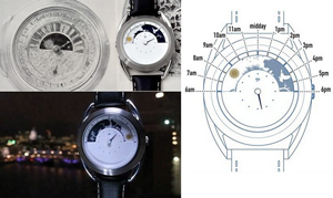 New from Mr.Jones - Sun and Moon Clock