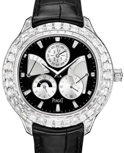 Fine jewelry from Piaget Emperador watch