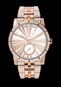 Preview SIHH 2013 Roger Dubuis Excalibur 36 rose gold diamond