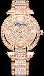 Sparkle of diamonds and great design - a model of Chopard Imperiale