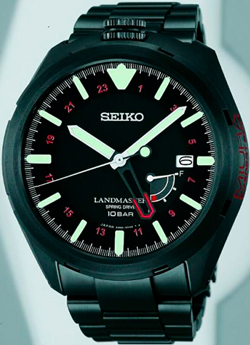 The new black model from Seiko – Prospex Landmaster Miura Everest 2013