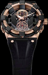 Concord is a novelty C1 BlackSpider Tourbillon Rose Gold