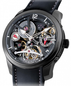 Greubel Forsey Double Tourbillon Technique Watch Black