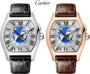 Watch Tortue Multi Time Zone from Cartier