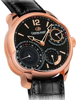 SIHH-2013 Quadruple Tourbillon Secret RG of Greubel Forsey