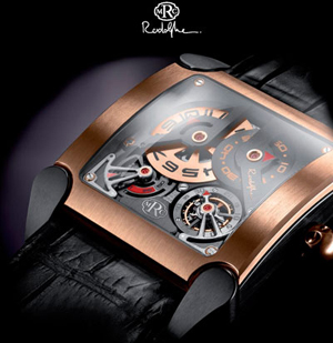 Tempovision Square Tourbillon watch from MRC