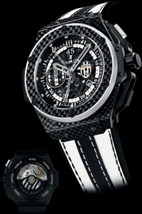 Watch King Power Juventus Turin by Hublot in honor of the football club Juventus
