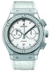 Classic Fusion White Chrono from Hublot