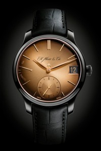 H. Moser & Cie. represents a novelty Endeavour Perpetual Calendar Black Golden Edition