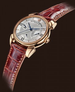 Cuervo y Sobrinos is a novelty Historiador Retrogrado, Pink Gold1